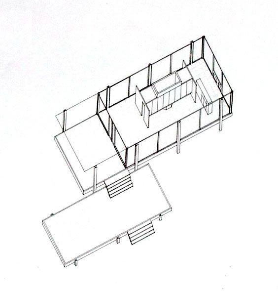 Mies Van Der Rohe; Edith Farnsworth House, Illinois
