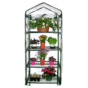 Amazon Com Gardman R687 4 Tier Mini Greenhouse Patio 400 x 300