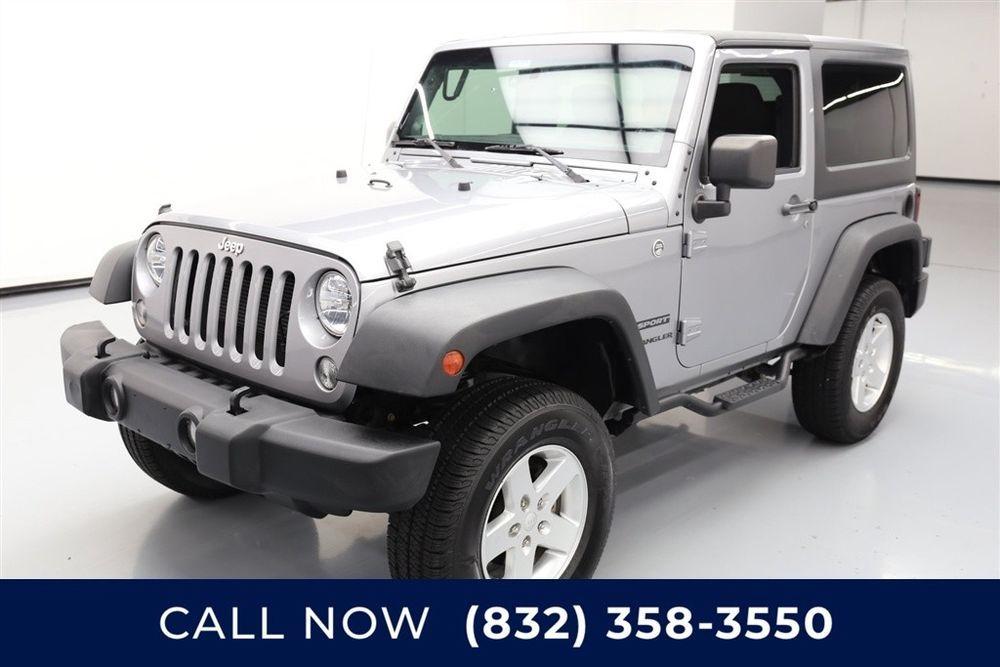 Jeep Wrangler Sport Texas Direct Auto 2014 Sport Used 3.6L