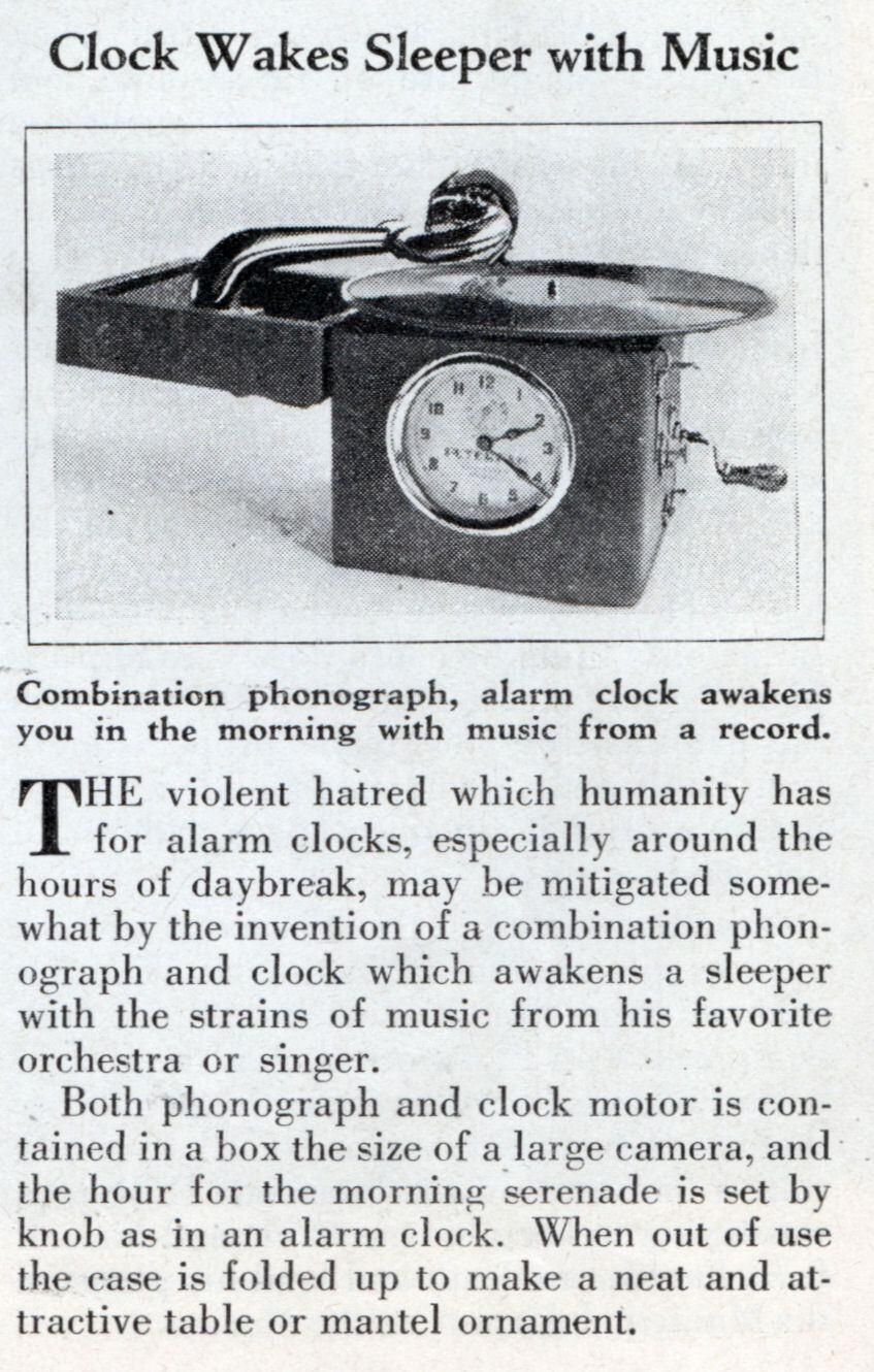 Twitter / theretronaut: 1931: The Clock ...