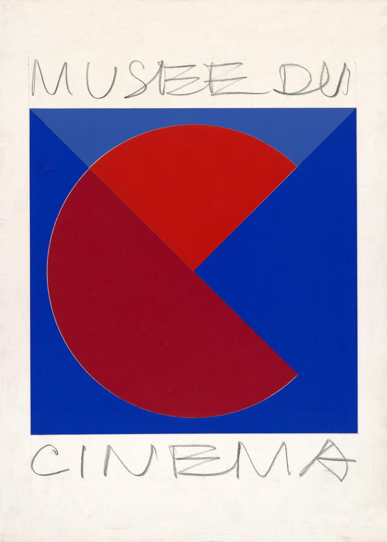 Victor Vasarely: Logo design for Musee du Cinema, 190 PARIS 2014