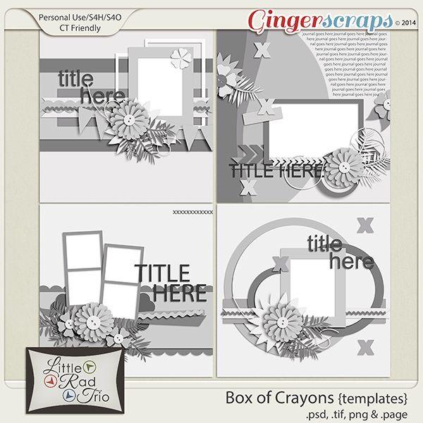 Box Of Crayons Templates Crayon Template Templates Card Sketches