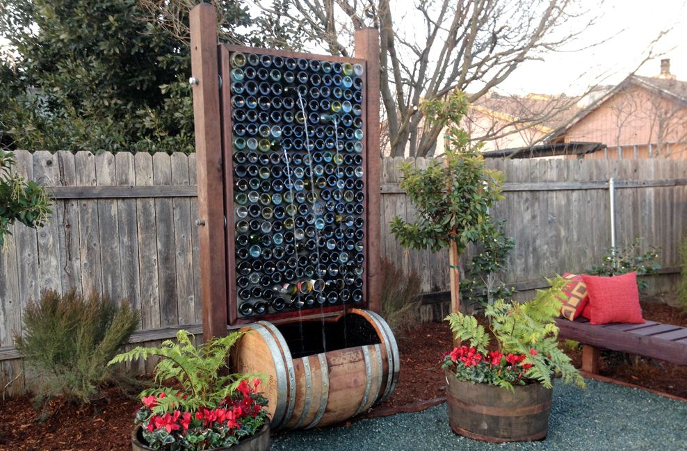 Wine Country Rustic Water Feature Saloon Western Town
