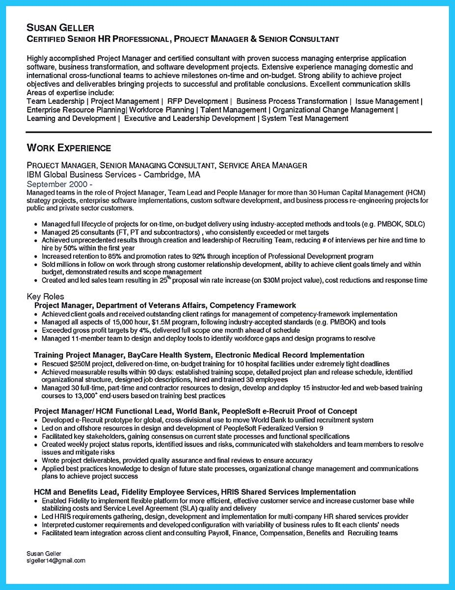 Management Resume Nice The Most Excellent Business Management Resume Ever Check