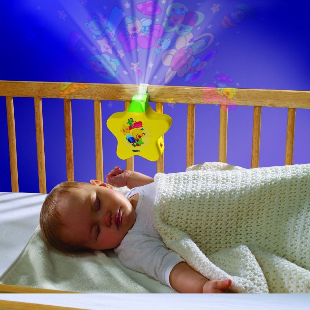 Tomy Baby Musical Starlight Dreamshow Light Show Cot Mobile