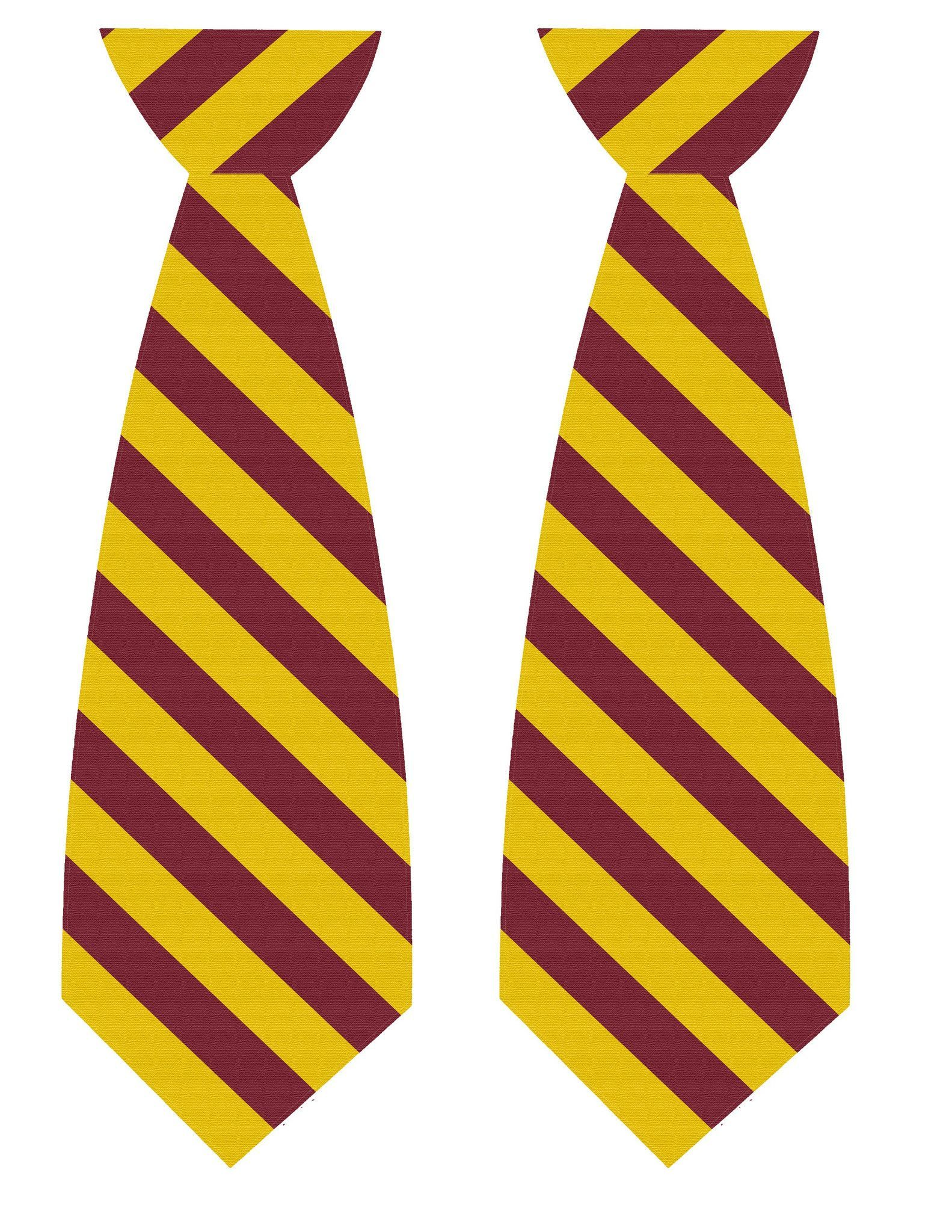 Harry potter tie printables harry potter tie harry for Harry potter tie template