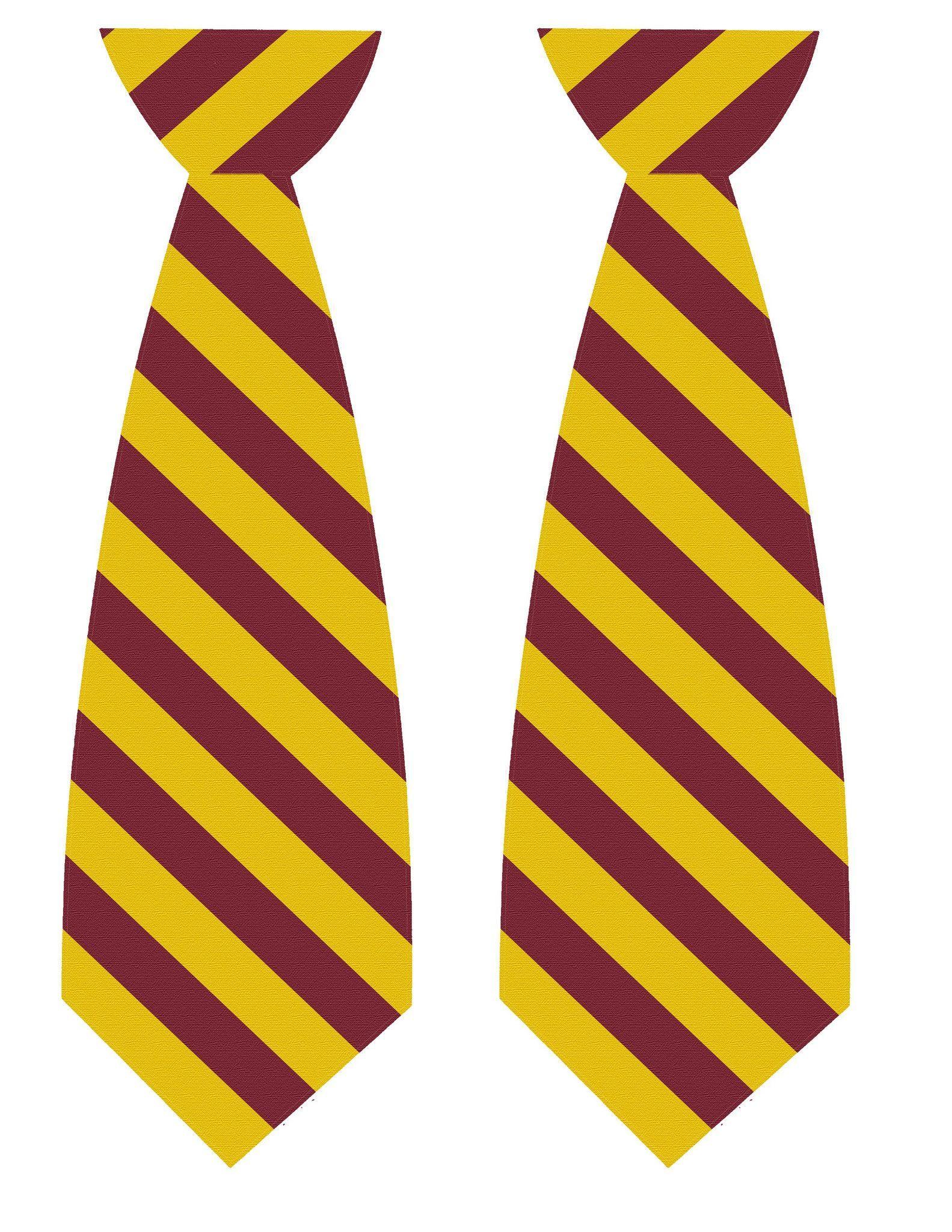 Harry Potter Tie Printables Harry Potter Tie Harry Potter