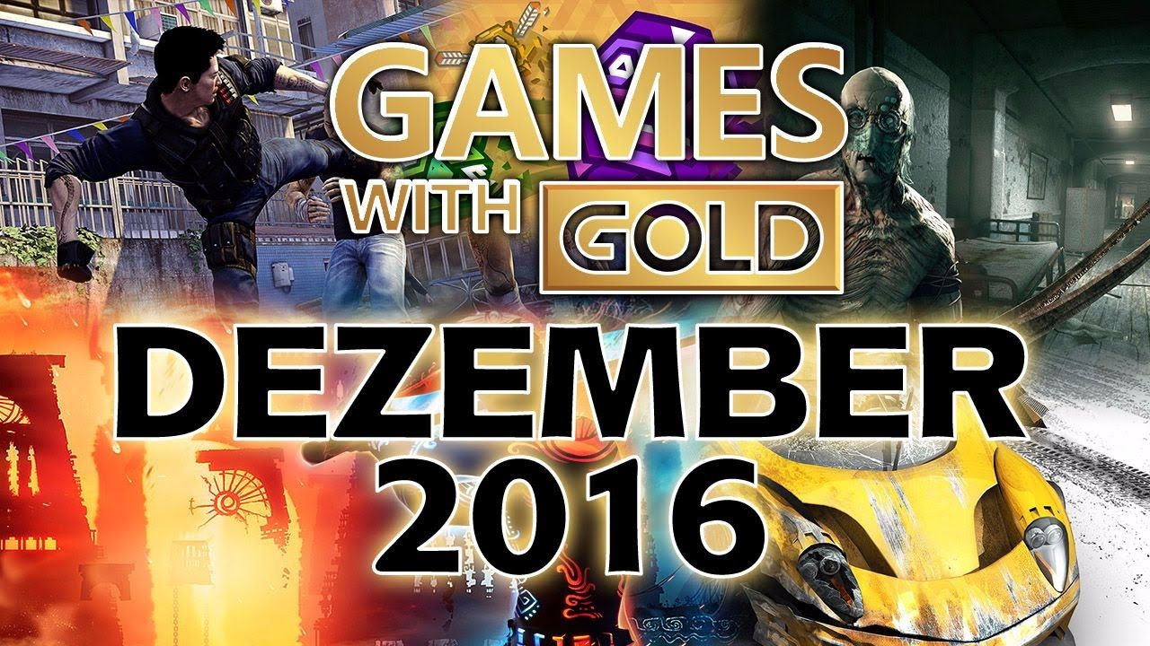 Xbox games with gold dezember 2016 dezember xbox spiele