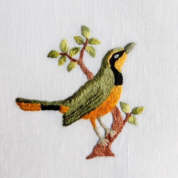 Three Miniature Birds - Collection 2 | bordado a mano en 2018 ...