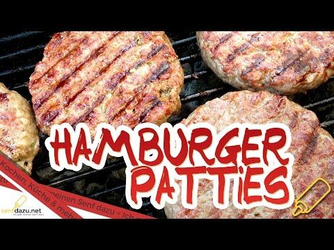 patties rezept saftige homemade burger patty 39 s selber. Black Bedroom Furniture Sets. Home Design Ideas
