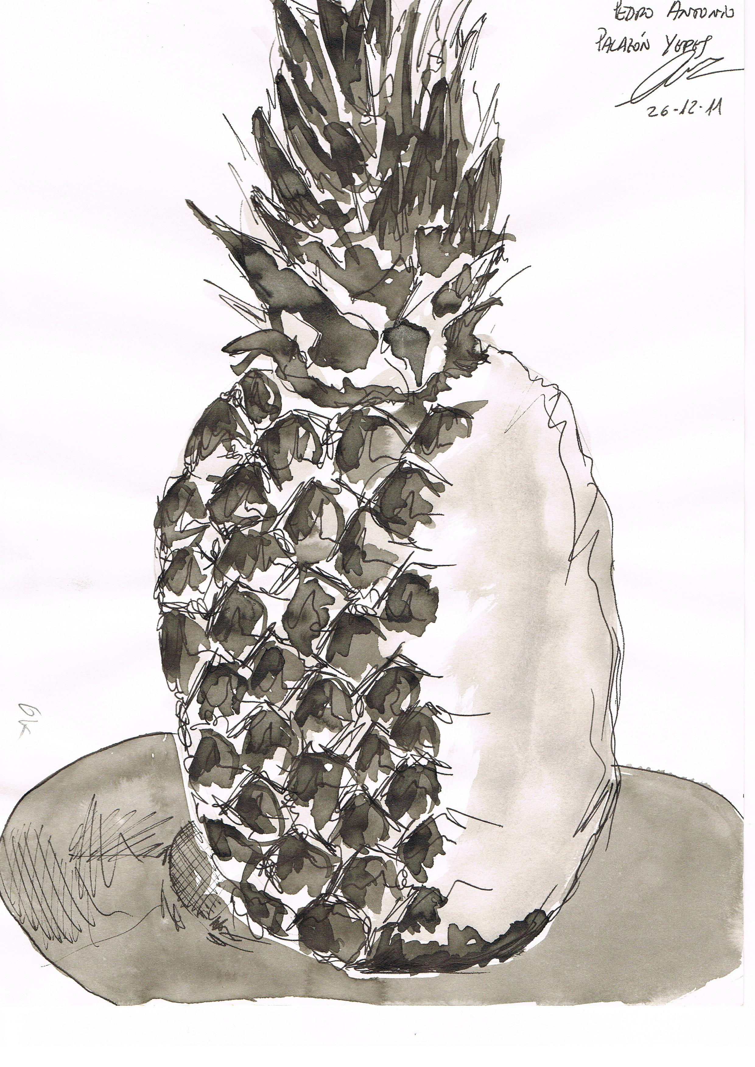 Dibujo Tecnica Mixta Tinta China Aguada Y Tinta Estilografo Autor Pedro Palazon Yepes Tinta China Tinta Estilografo