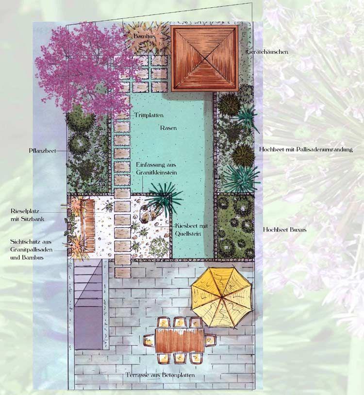 die besten 25 ideen zu garten auf pinterest | gärten, verandas und, Hause und Garten