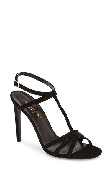 6d3b7e8c91777 Saint Laurent  Jane  T-Strap Sandal (Women)