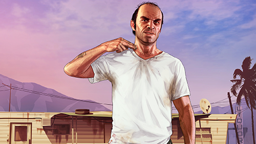 Como seria Grand Theft Auto e Trevor na vida real?