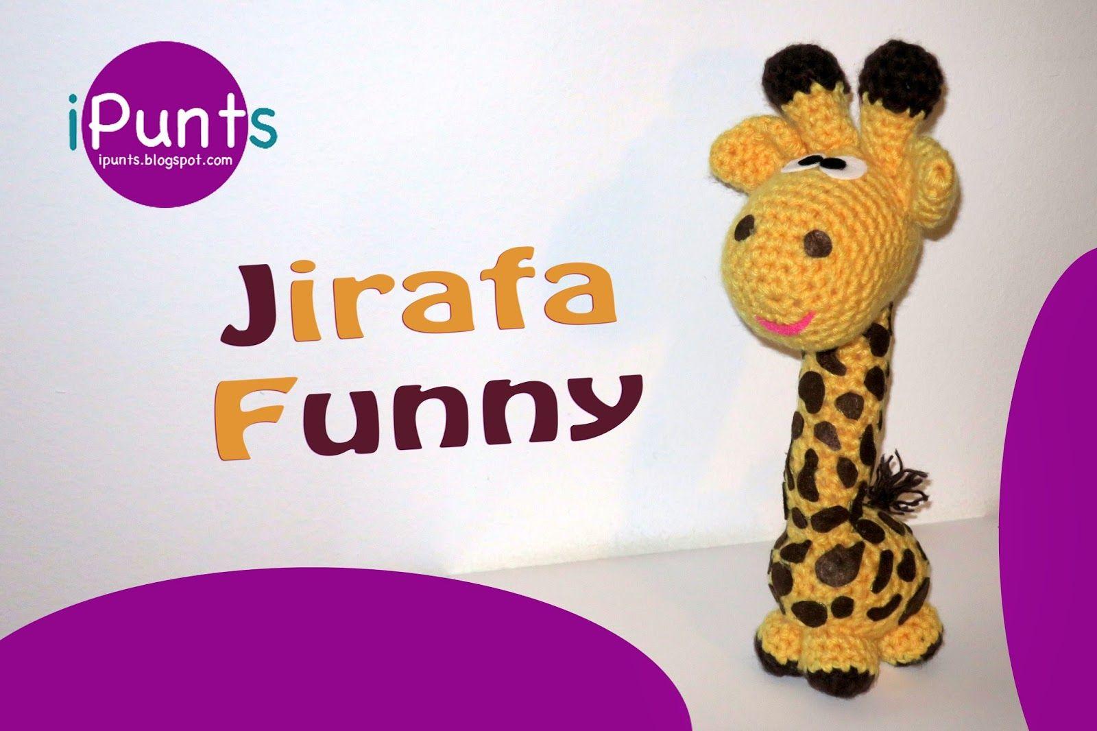 Jirafa Funny Amigurumi - Patrón Gratis en Español | Patrones ...
