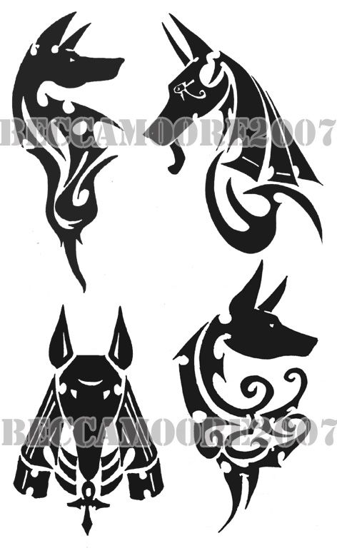 0884c1c60 anubis tribal tattoo - Pesquisa Google | Tattoos | Anubis tattoo ...