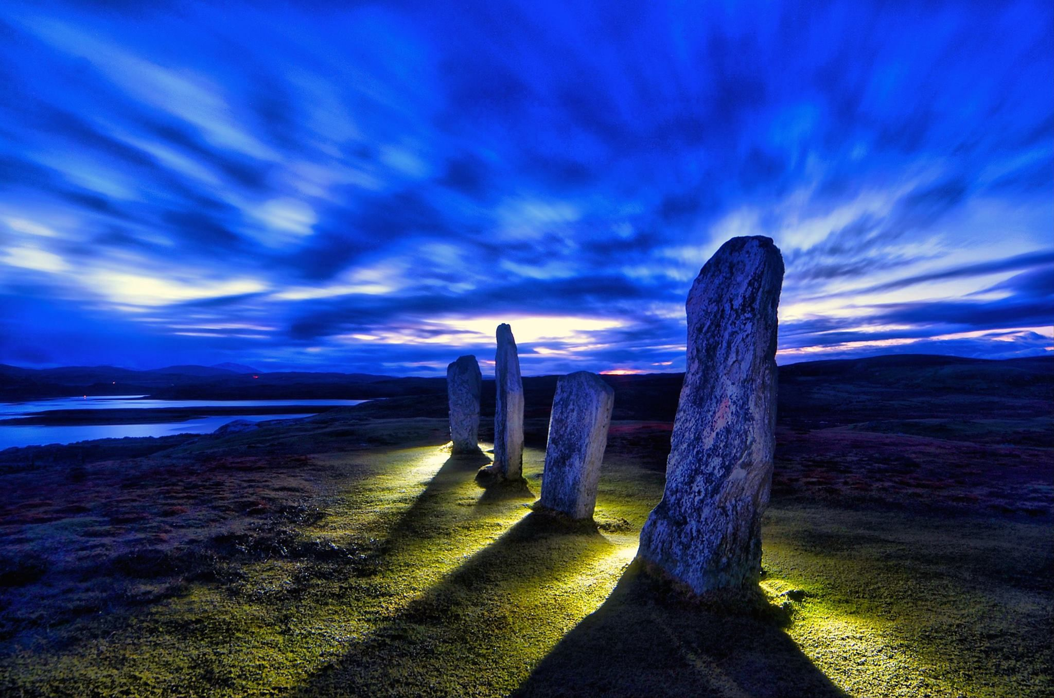 At attention for eternity !! Callanish stones, Chris Murray Photography