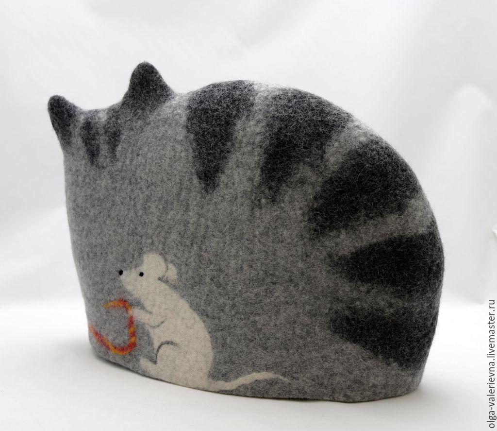 Кошка своими руками валяние фото 465
