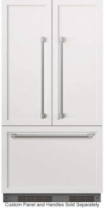 Dcs Rs36a72jc1 Dcs Activesmart Series 36 Inch Panel Ready Built In Counter Depth French Door Refrigerator In Panel Ready Panel Ready Refrigerator Refrigerator Panels French Door Refrigerator