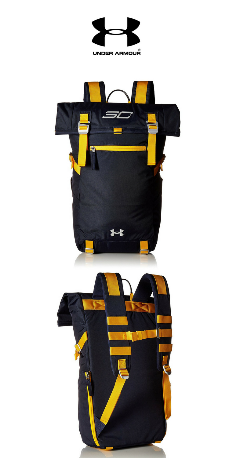 Under Armour - SC30 Signature Rolltop Backpack   Midnight Navy   Click for  Price and More 1a95188e8f