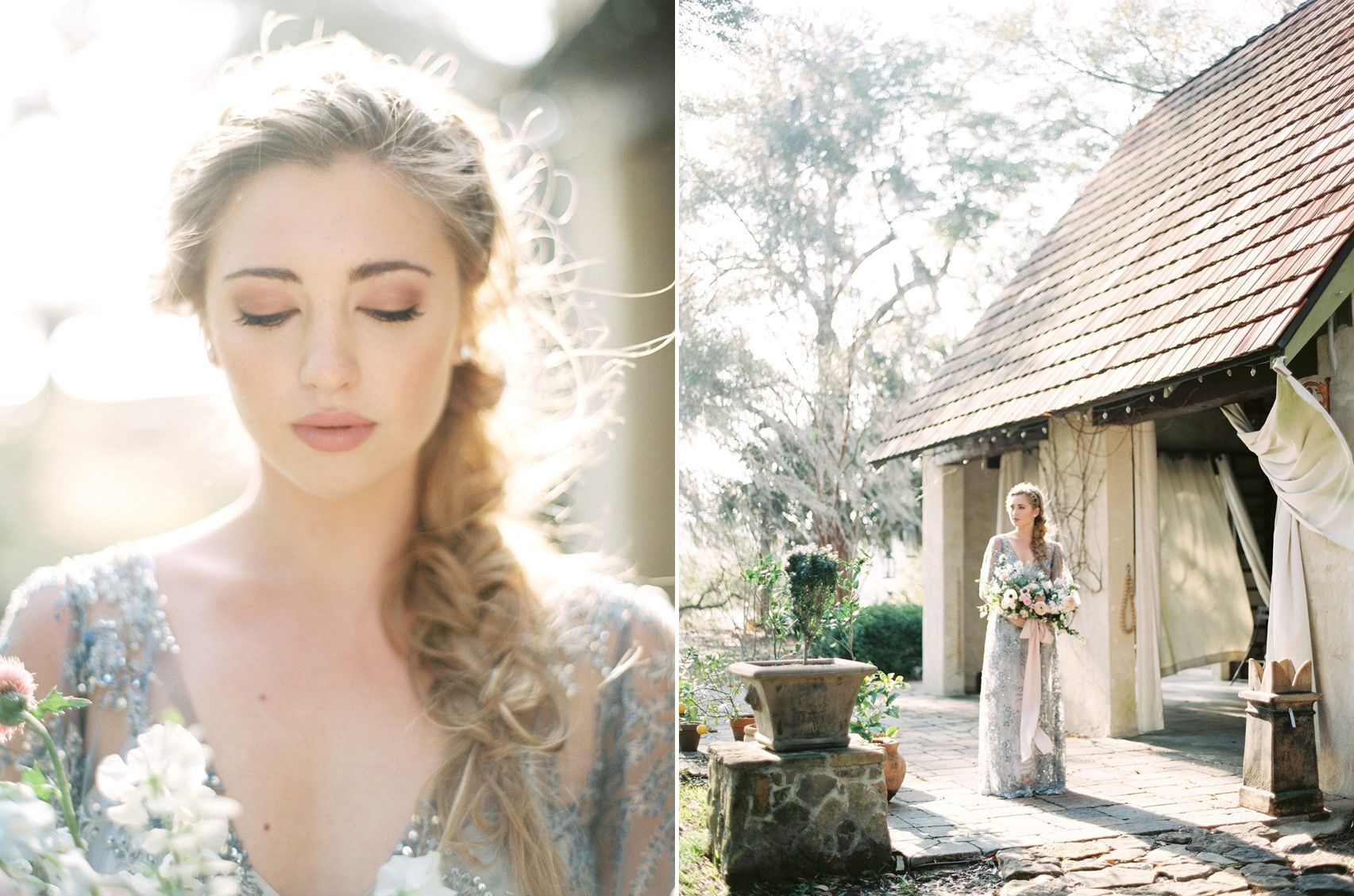 Heavenly serenity blue u rose quartz wedding inspiration blue