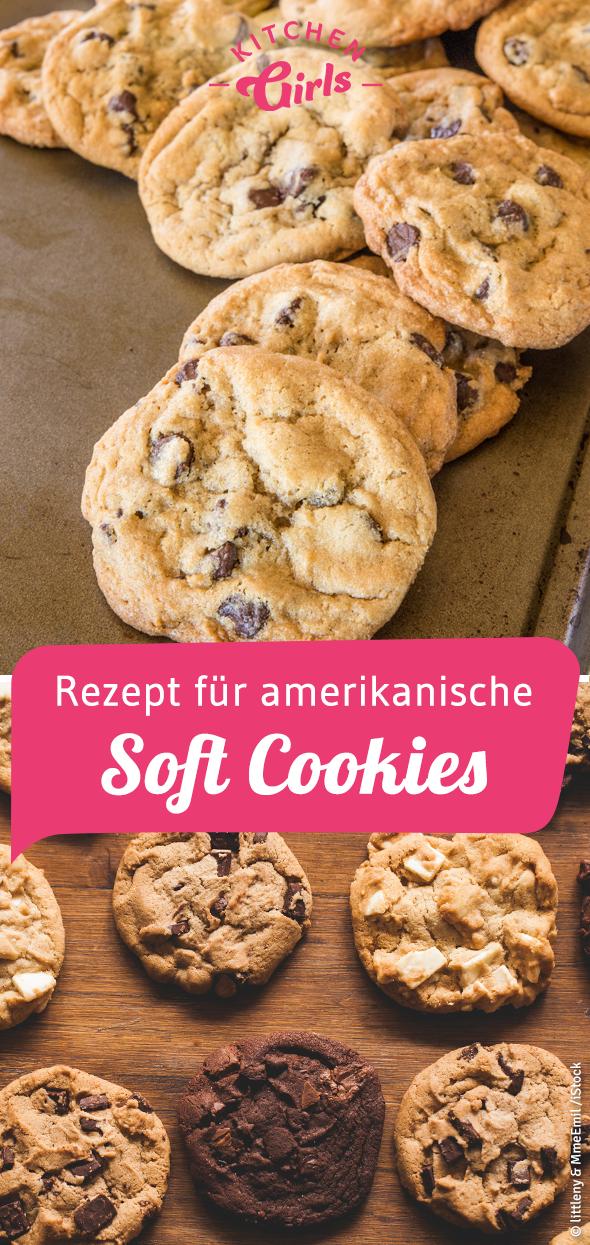 Amerikanische Cookies mit Chocolate Chips und Macadamia #simplecheesecakerecipe