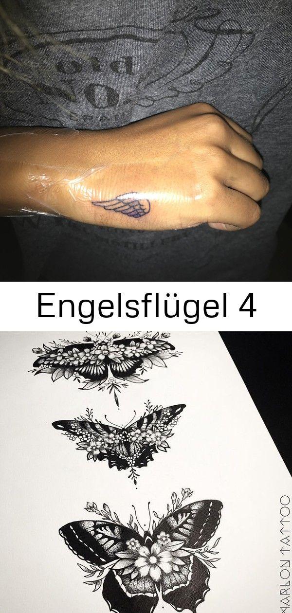 Tattoo Tattoofrauen Tattoohand Tattooflugel Flugel