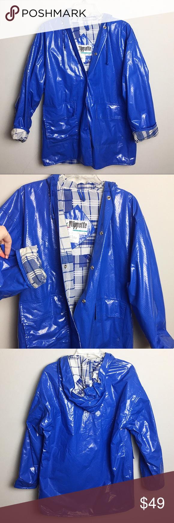 Blue Vinyl Snakeskin Vintage Wippette Jacket Bright Blue Vinyl Vintage Jacket Love The Color And Snake Skin Pa Vintage Jacket Blue Vinyl Red Leather Jacket