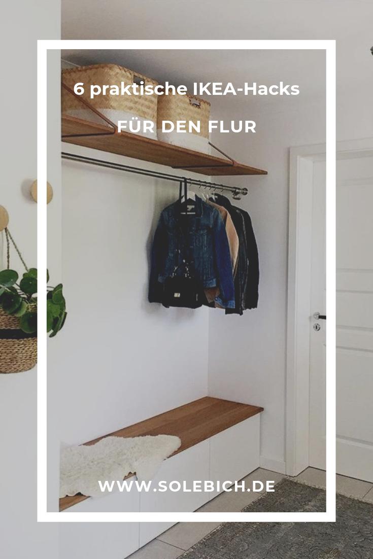 6 praktische IKEA-Hacks für den Flur #ikeahacks