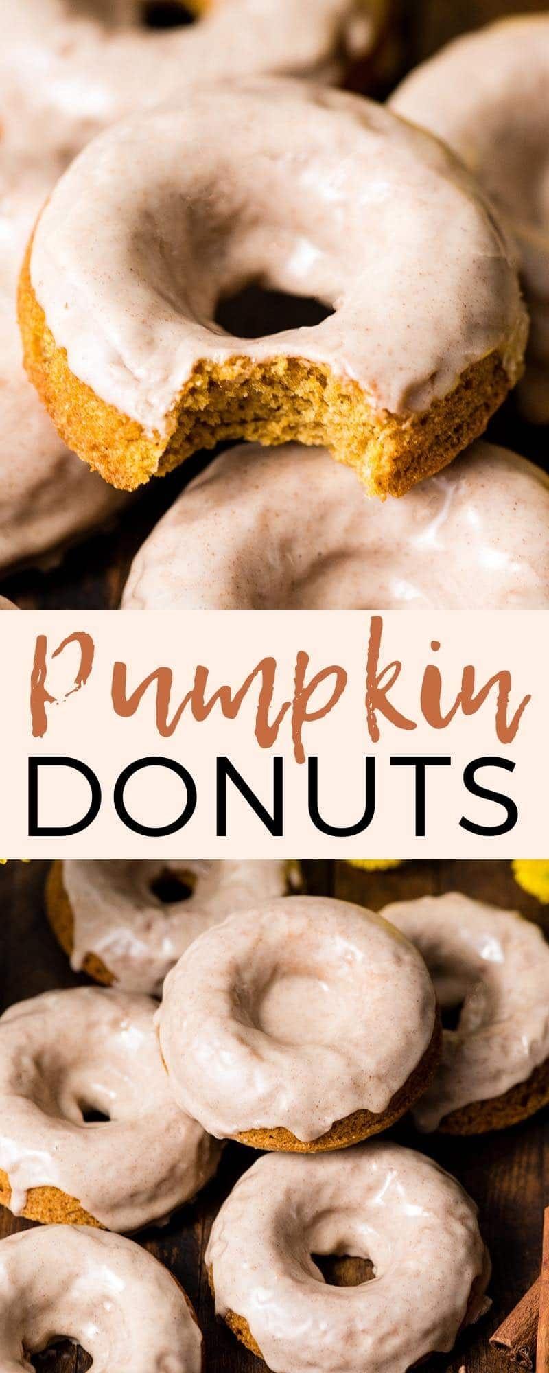 Baked Pumpkin Donuts - JoyFoodSunshine