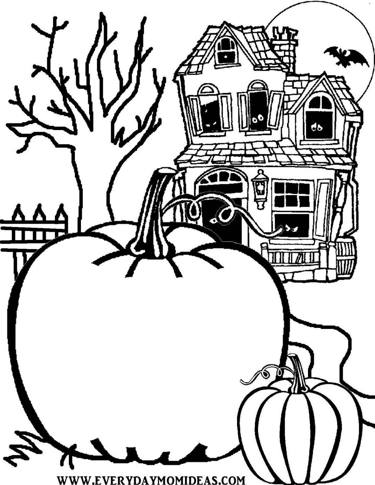 Create Your Own Jack O Lantern Halloween Coloring