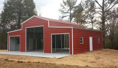 Details About Steel Building Metal Pole Barn 4 Car Garage