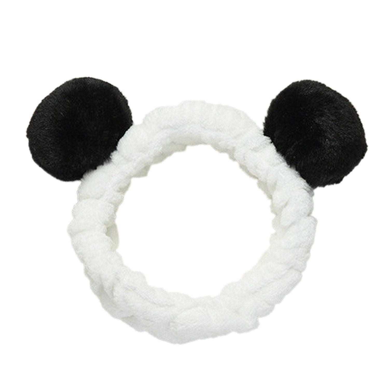 US Girl Cute Panda Headband Cartoon Hair Hoop Lovely Fashion Kids Party Headwear
