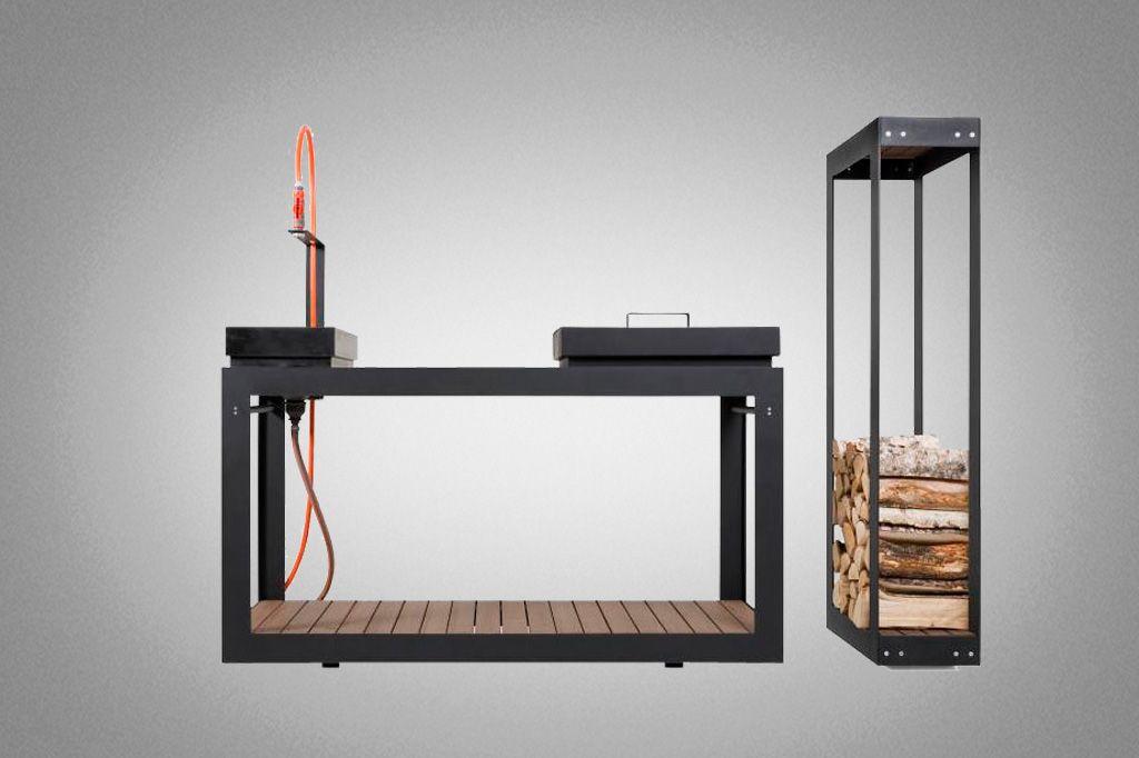 Cocina modular para cocinar en el exterior | Decoración del hogar ...