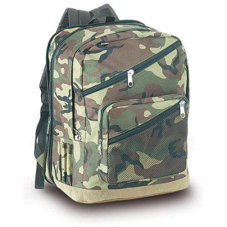 Explorer Big 17 Inch Camo Backpack Walmart Com Camo Backpack