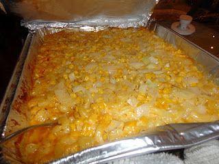 Maggie's macaroni corn casserole