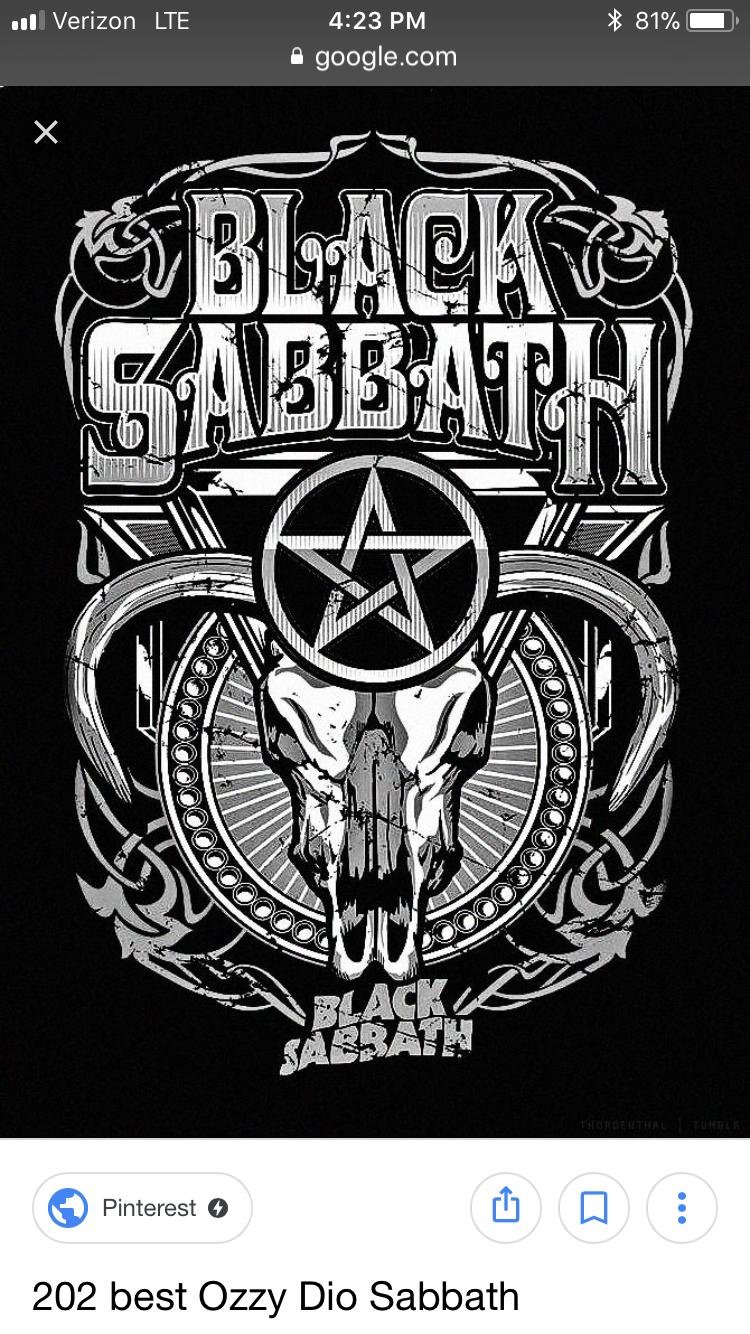 Pin by Cybele Moon on WYFWYBA 2018 Black sabbath, Heavy