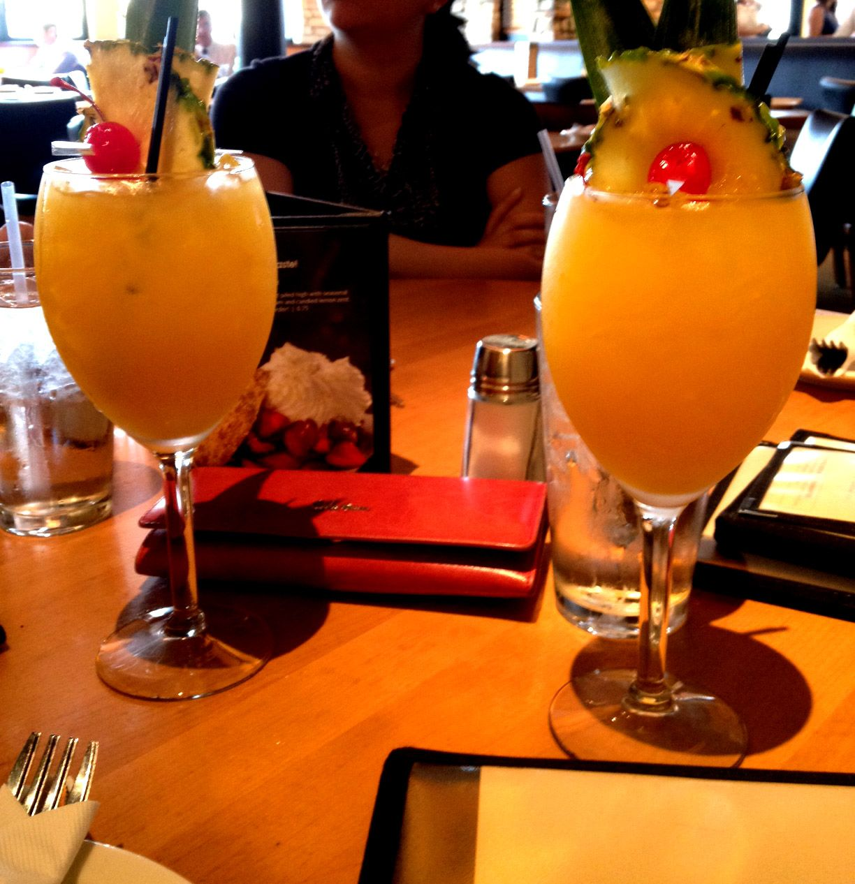 White Sangria Available At California Pizza Kitchen 300 Miracle