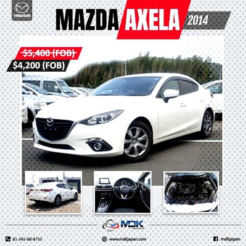 Vehicles Japanese Company Dealers Quality Trading Import Mazda Axela Japan Best From 2014 High Used Mazda Axela 2014 In 2020 Import Cars Mazda Bmw Car