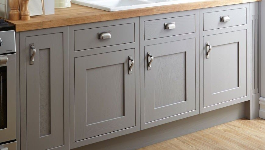Best Beautiful Grey Kitchen Cupboard Doors Bq In 2020 Kitchen 640 x 480