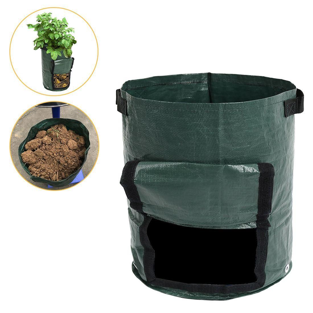 45*35cm Vegetable Plant Grow Bag DIY Potato Grow Planter