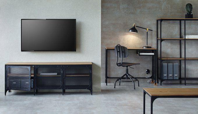 Ikea fjallbo serie miljo industrial design ikea room living room