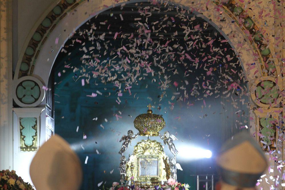 Las imágenes más destacadas de la tradicional bajada de la Chinita a sus 304 años de aparición