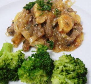 Receitas da Dieta Dukan: Estrogonofe de Carne Dukan