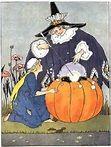 """Illustration for """"Cinderella"""" by Margaret Evans Price.)"""