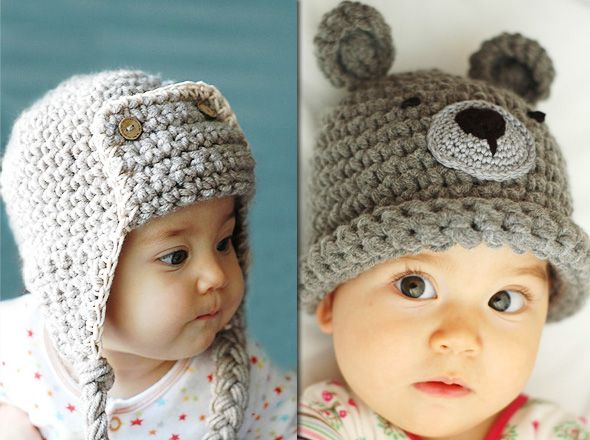 Beliz Saruhanli  Adorables Bonnets en Crochet pour Bébé