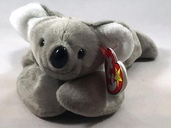 26fdaed6d6b Mel the Koala Plush TY Beanie Baby Retired Stuffed Animal Vintage ...