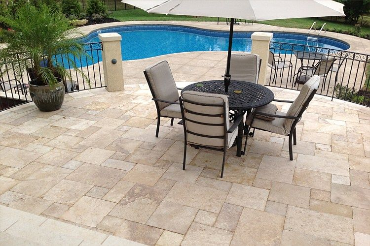 17 Best images about Pool on Pinterest | Vinyls, Pool decks and Travertine  pavers