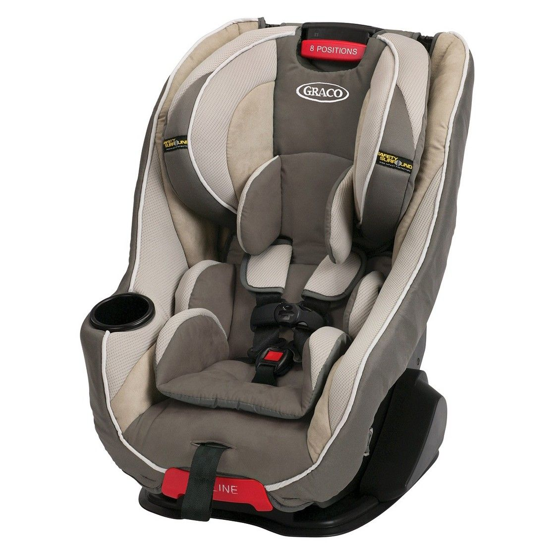 Graco Headwise 65 Convertible Carseat with Safety Surround