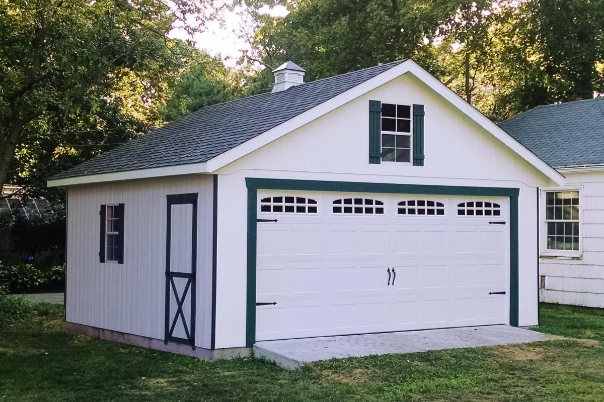 custom 20x20 two car garage syosset ny Prefab garages